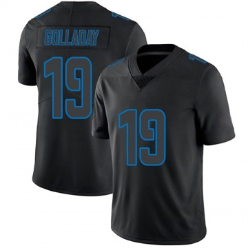 Men's Kenny Golladay Detroit Lions Limited Black Impact Jersey