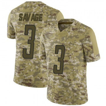Youth Tom Savage Detroit Lions Limited Camo 2018 Salute to Service Jersey