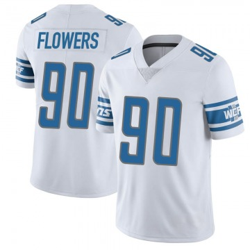 Youth Trey Flowers Detroit Lions Limited White Vapor Untouchable Jersey